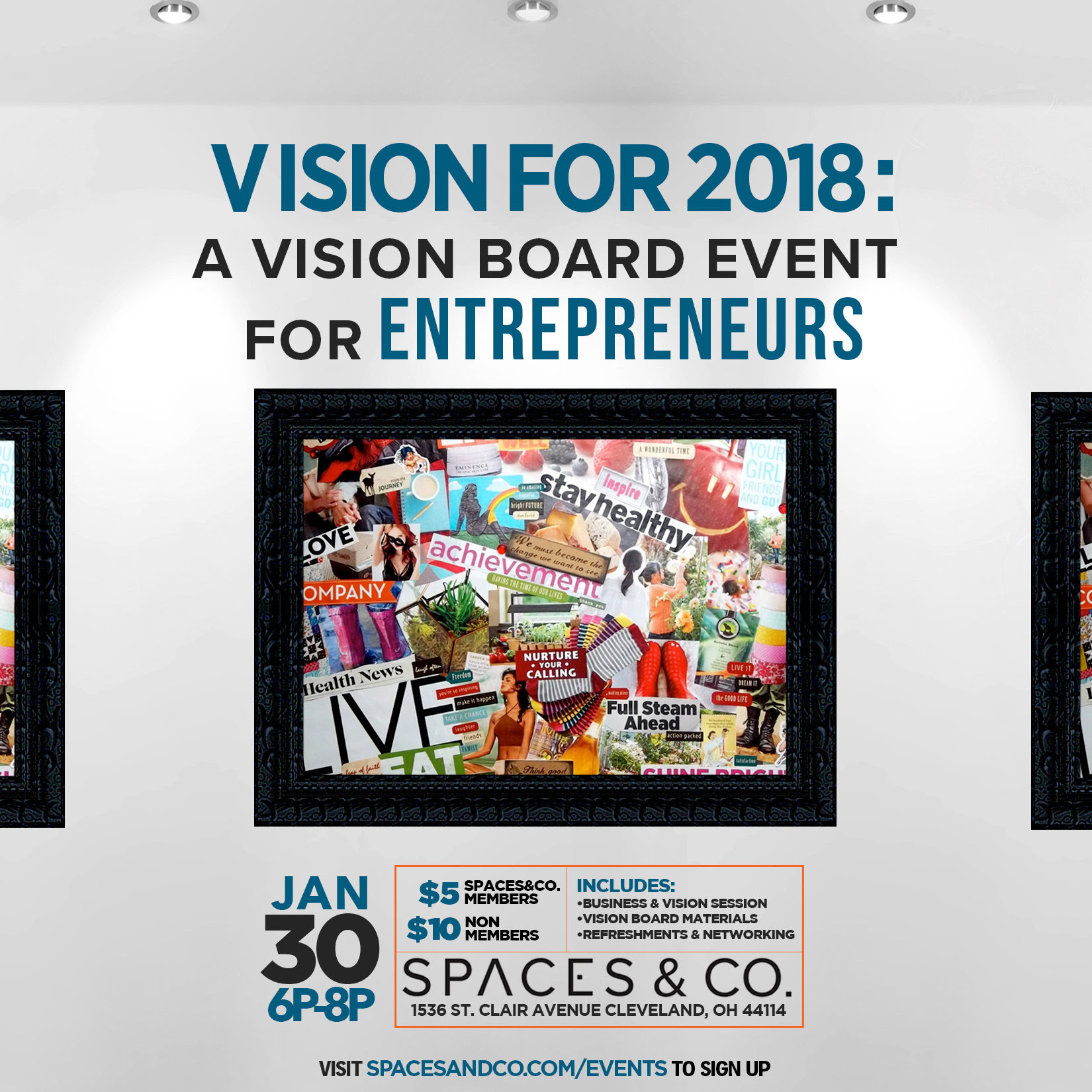Vision Board Event - Join Week Tickets, Sat, Jan 24, 2015 ... |Events Vision Board