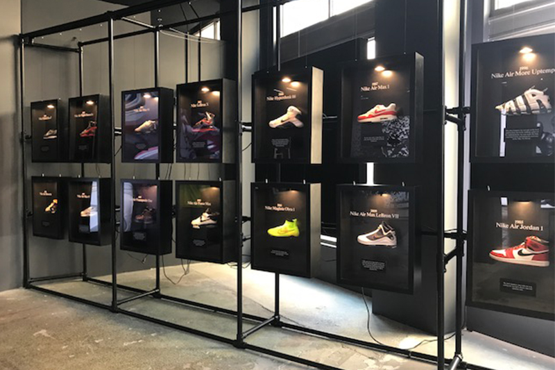 253965aa2888 LeBron 15 Pop-Up Shoe Store Downtown – Courtney Covers Cleveland
