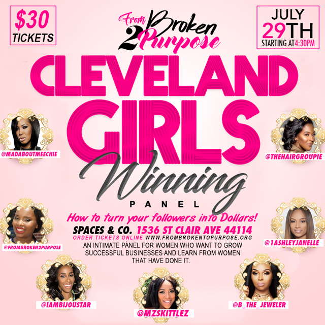Cleveland Girls Winning Panel: How to Turn Your Followers into Dollars
